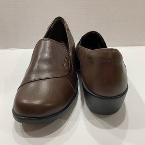 New Clark's leather loafers